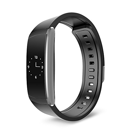 24h Roll - iWOWNfit Smartband 24h Heart Rate Monitor Fitness Tracker Sleep Monitor Wristband OLED Screen Waterproof I6 Pro Smartwatch Muti-Sport Management For Iphone IOS8.0 / Android 4.3, Black