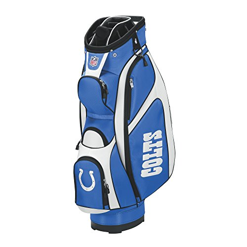Wilson NFL Indianapolis Colts Cart Golf Bag, Blue/White, One Size