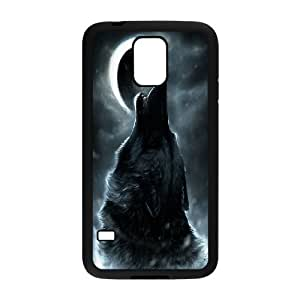 JamesBagg Phone case Wolf love noon,wolf pattern For Samsung Galaxy S5 FHYY452648