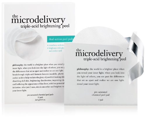 Philosophy Microdelivery Triple-Acid Peel Pads, 12-count