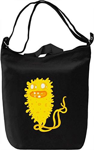 Yellow virus Borsa Giornaliera Canvas Canvas Day Bag| 100% Premium Cotton Canvas| DTG Printing|