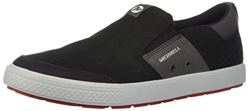 Merrell Mens Rant Discovery Moc Canvas Sneaker Nero