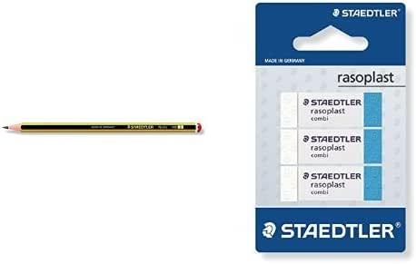 Staedtler - Pack 12 lapiceros HB + 3 gomas de borrar: Amazon.es ...