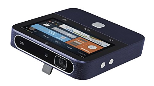 NEW NIB ZTE SPRO 2 - 6727A - AT&T 4G Hotspot Android Smart Projector, Navy