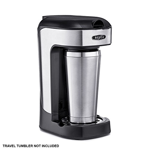 Bella BLA14436 One Scoop One Cup Coffee Maker, Black and Stainless Steel New eBay