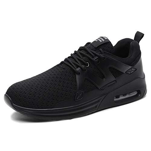 Zxcvb Scarpe Da Ginnastica Da Uomo Ultraleggere Resistente All'usura Traspirante Running Walking Training Sport Viaggi Casual Sneakers Black