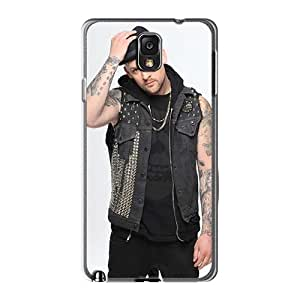 Protector Hard Cell-phone Case For Samsung Galaxy Note3 With Provide Private Custom High Resolution Good Charlotte Band Image LauraAdamicska