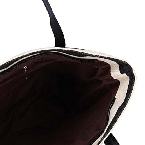 Big Clutches Plaid Striped Shoulder Bags Bag Ladies Handbags Black Ouneed Women SP8xSf