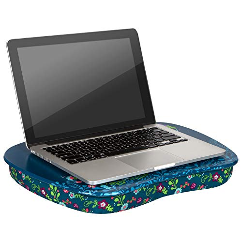LapGear MyStyle Lap Desk - Big Ideas - Fits up to 15.6 Inch laptops - Style No. 45311 -