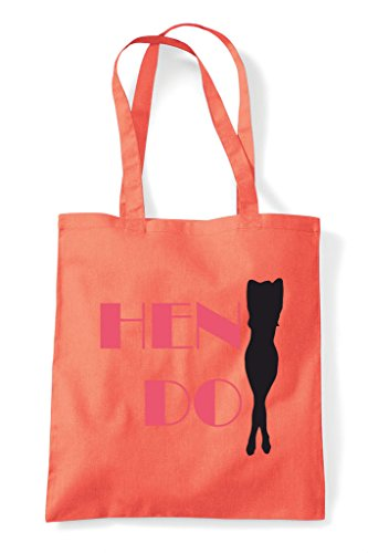 Do Yellow Shopper Hen Personalised Dirty Bag Party Tote Devils Customised 8qwzXTq