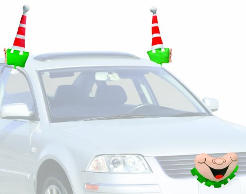 Mystic Industries Jolly Elf Vehicle Costume (Holiday Car Costume)