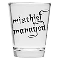 Shot Glass - Mischief Managed - Inspired by Harry Potter