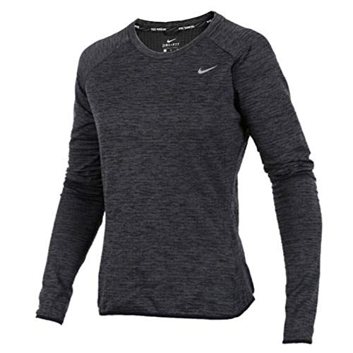 - Womens Dri-Fit Tech Fleece Running Top 918014 010 Black (large)
