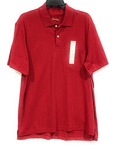 St. John's bay Short Sleeves Polo red Large from St. John's bay