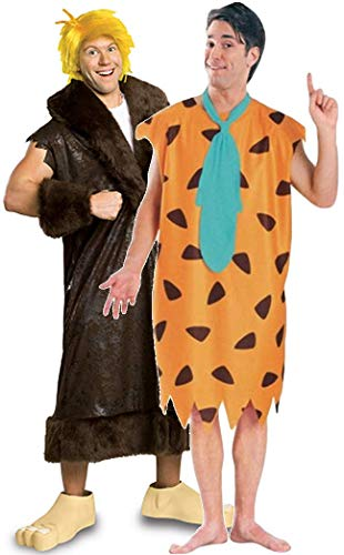 Rubie´s Mens Couples Fred and Barney Rubble Flintstones