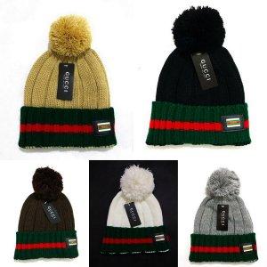 Zhong Gucci ball beanie wool hat knitted hat male female winter tide  balaclavas warm winter hat cotton cap  Amazon.ca  Sports   Outdoors b6742c66c26