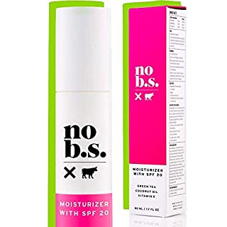 No B S Face Moisturizer With SPF 20. Daily Face Moisturizers For Women. Anti-Aging Face Sunscreen Cream. Clean Ingredients. Potent Formulas.