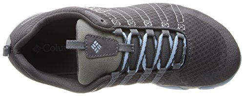 Columbia CONSPIRCY VAPOR - Zapatillas De Deporte Para Exterior de material sintético mujer gris - Grau (Charcoal, Platinum 030)