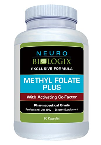 Neurobiologix Methyl Folate Plus Methyl Folate Supplements (90 Capsules)