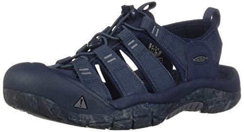 KEEN Men's Newport H2 Water Shoe, Blue Nights/Swirl Outsole, 11 M US