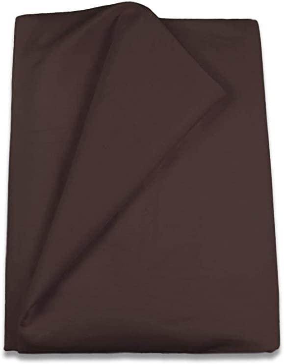 Couleur Chocolat Housse de Couette uni 240 x 260 cm Home Royal