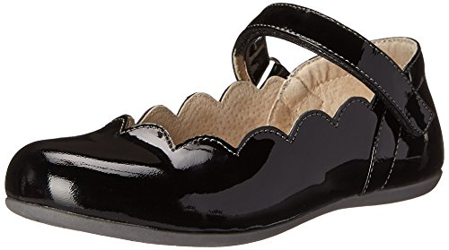 See Kai Run Savannah Mary Jane (Toddler/Little Kid), Black Patent,12 M US Little Kid