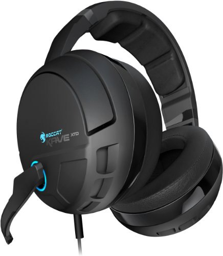 (ROCCAT KAVE XTD 5.1 Digital - Premium 5.1 Surround Headset with USB Remote & Sound Card)