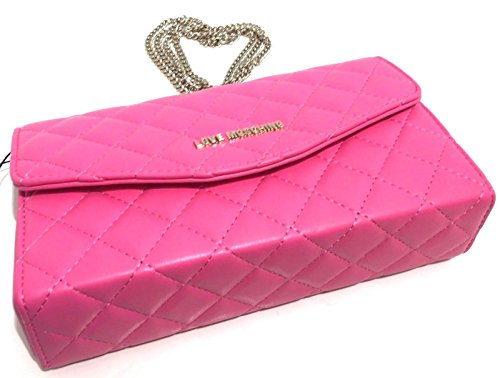 Love moschinosuperquilted - Borsa a Tracolla - Rosa