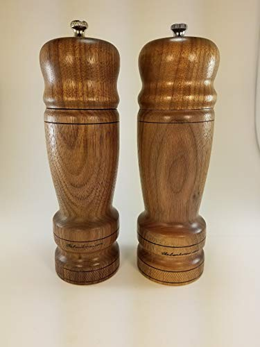Hand turned S & P mills/grinders sets