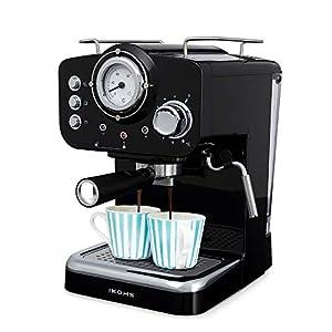 IKOHS THERA RETRO - Macchina del Caffè Express per caffè espresso e cappuccino, 1100 W, 15 bar, vaporizzatore regolabile… 21