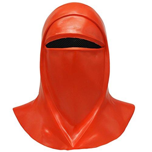Star War Emperors Royal Guard Latex Mask Cosplay Prop Halloween -