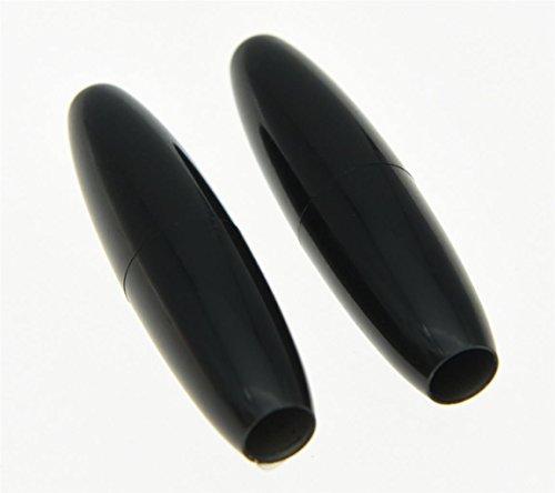 KAISH 2pcs Black 5mm ST Strat Guitar Tremolo Trem Arm Tip Whammy Bar Cap for Stratocaster (Strat Arm Tremolo)
