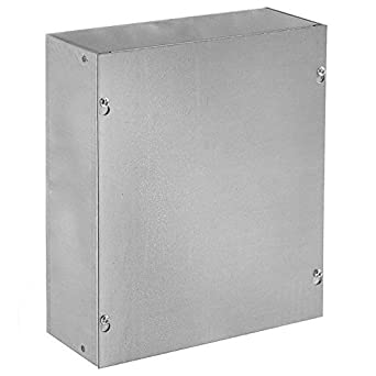 """Electrical Enclosure 12/"""" x 12/"""" x24/"""" screw cover galv steel box"""