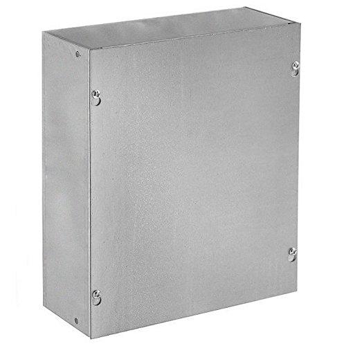 Gray Screw Cover 4 x 4 x 3 Steel Hoffman ASE4X4X3NK Pull Box