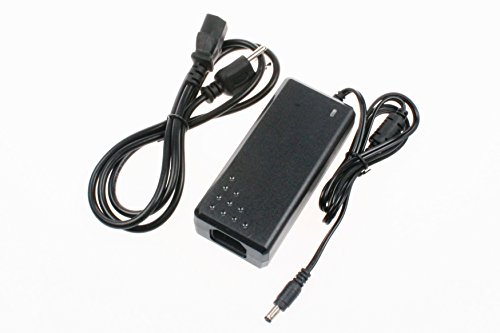 48V 3A 144W Adapter AD/DC 100-240V 50-60 Hz to 48V Power Supply Charger Transformer 5.5x2.5/2.1mm Interface Suitable for LED Strip Light CCTV Camera POE Switch