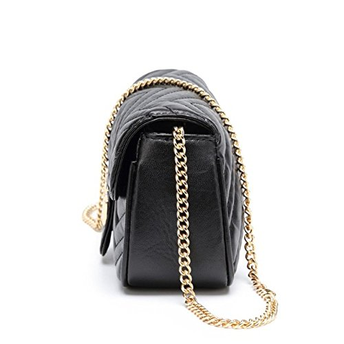 2018 YUHEQI Messenger Petit Wave Sac New Or Paquet 1dFqTd