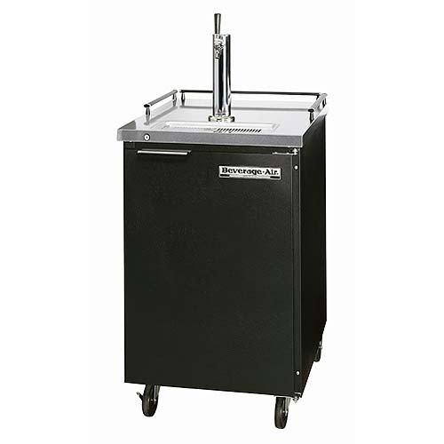 Beverage Air Bm23-b 7. 8 Cu. Ft. Beer Dispenser - Stainless Steel Top / Black Cabinet