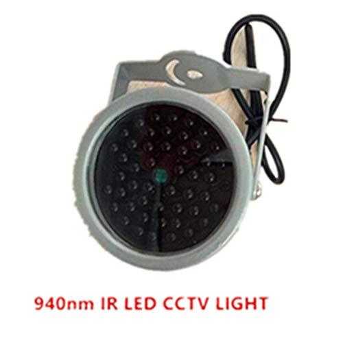 940nm IR LED Illuminator Security Lighting 48PCS INSIVIBLE Infrared LED for Night Vision Surveillance CCTV Camera Fill Light