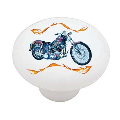 flame-chopper-bike-decorative-high-gloss-ceramic-drawer-knob
