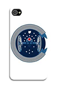 iphone 4 4s Protective Case,Fashion Popular Columbus Blue Jackets Designed iphone 4 4s Hard Case/Nhl Hard Case Cover Skin for iphone 4 4s