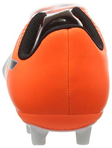 Weiß 5 Jr Orange Fußballschuhe SHOCKING puma 05 FG Puma puma Unisex Black Evospeed white 5 Kinder wCtxtpSq8