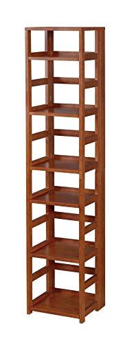 Niche FFSQ6712CH Flip Flop Square Folding Bookcase, 67-inch, Cherry
