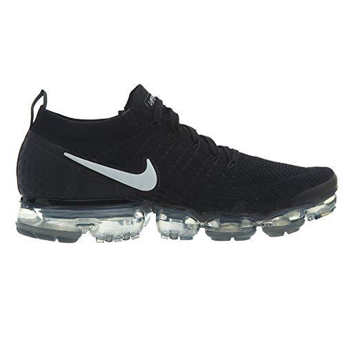 Multicolore 001 Donna Da 2 Ginnastica Nike Vapormax white W black Air Flyknit metallic Grey Scarpe Basse dark Silver qqvS4wF