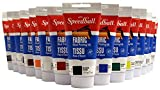 Speedball 003570 Fabric Block Printing Ink - Premium Fabric Block Printing Ink 2.5 FL OZ (75CC), Black: more info