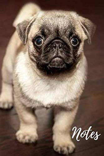 Pug Journal: cute gift for animal and dog puppy lovers (blank lined journal) (120 pages) great for writing notes and ideas at home or school homework ... and women / practise handwriting and more (Brother Or Best Friend As Best Man)