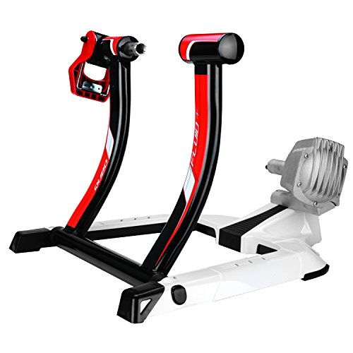 Elite Qubo Fluid Trainer with Riser Block and Sweat (Best Elite Bicycle Trainers)
