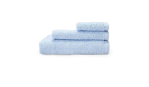 BB.er Juego de Toallas de baño de algodón Juego de Toallas Absorbente Suave de algodón Azul Grueso: Amazon.es: Hogar