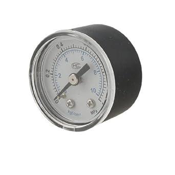 eDealMax 0-1MPa 0, 37 roscado Dial compresor de aire Indicador de presión: Amazon.com: Industrial & Scientific