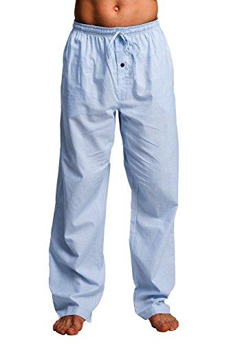 Pajama Pants Bottom (CYZ Men's 100% Cotton Poplin Pajama Lounge Sleep Pant-F1718-XL)