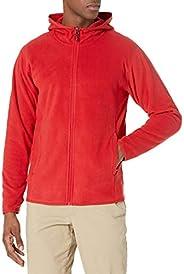 Amazon Essentials Men's Long-Sleeve Hooded Full-Zip Polar Fleece Ja